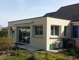 Extension toiture terrasse