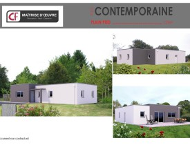 Maison Plain Pied Contemporaine