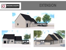 Extension Garage + Carport