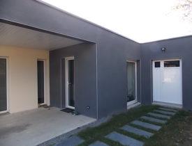 Extension d'un garage